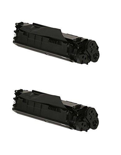 Giovannishop Q2612A 2 Toner compatibili per HP AI-Q2612A Q 2612A 12A Laserjet 1010 1012 1015 1018 10