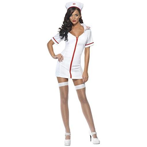 SMIFFYS-Smiffys-Costume-da-infermiera-sexy-Donna