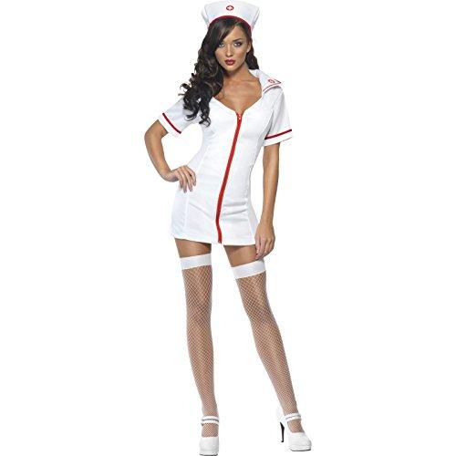 Imagen de smiffy's  disfraz de enfermera sexy para mujer, talla 40  42 22016m