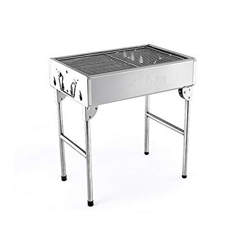 Barbecue grill 3-5 Personnes utilisent étagère de Barbecue en Acier Inoxydable ménage Grille extérieure GW