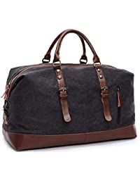 c67996ed64c5 Large Capacity Canvas Weekender Bag
