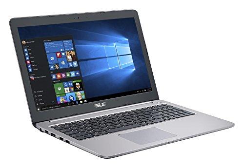 "ASUS K501UW-DM012T 2.5GHz i7-6500U 15.6"" 1920 x 1080pixels Grigio,Metallic - notebooks (i7-6500U, Touchpad, Windows 10 Home, Lithium-Ion (Li-Ion), Intel Core i7-6xxx, 50/60 Hz)"
