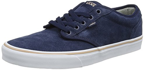 Vans Damen Atwood Suede Sneaker - Mehrfarbig (Weatherized/ Dress Blues) - 37 EU (4.5 UK) (Blue Vans Suede)