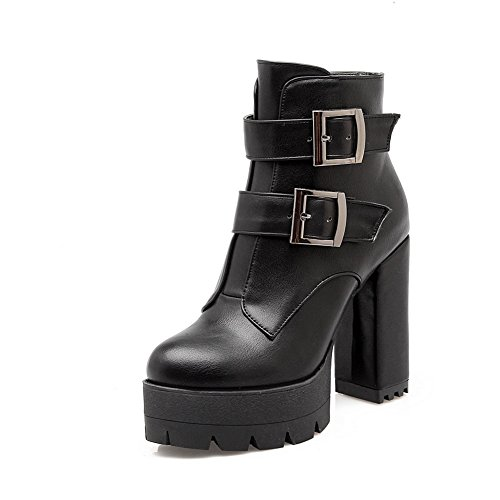 balamasa-womens-chunky-heels-platform-buckle-black-imitated-leather-boots-3-uk