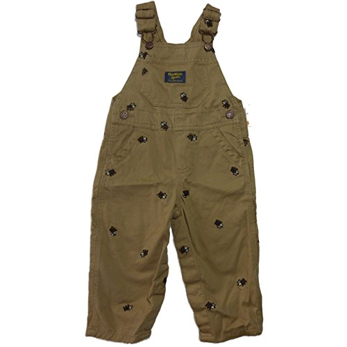 oshkosh-bgosh-pantalon-de-peto-chaqueta-guateada-para-bebe-nino-beige-80-cm