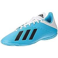 adidas X 19.4 Indoor Boots Men's Soccer Shoes, Blue, 9 UK (43 1/3 EU)