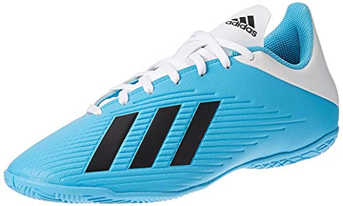adidas Mens F35341_41 1/3 Indoor Football Trainers, Blue