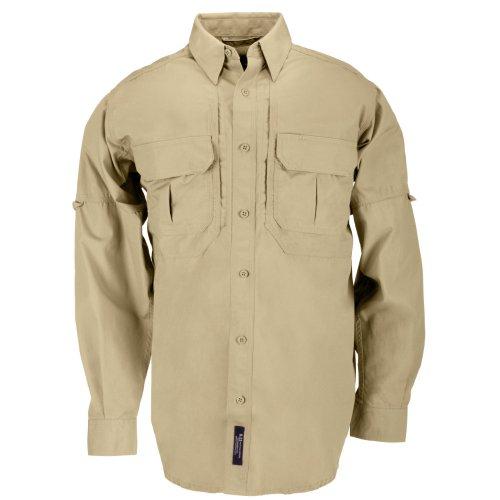 5.11 Herren Tactical Hemd Small Coyote Brown (Bekleidung Button-down-brown)