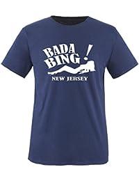 BADA BING - New Jersey - Herren Unisex T-Shirt Gr. S bis XXL Diverse Farben
