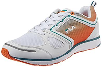 Fila Men's Voyage White and Orange  Running Shoes -11 UK/India (45 EU)