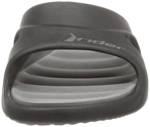 Rider Rider Slide Feet Iv, Chaussures de Plage & Piscine femme Noir - Schwarz (black/grey 22582)