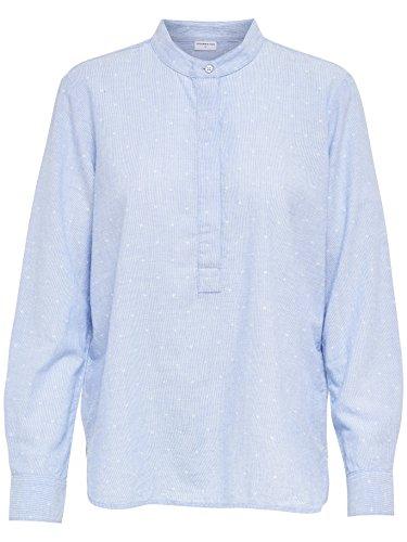 JACQUELINE de YONG Baumwoll Bluse Hemd Shirt JDYFUTURA 15141339 Light Blue