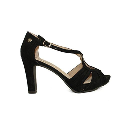 XTI 030563, Scarpe col tacco donna nero Size: Nero