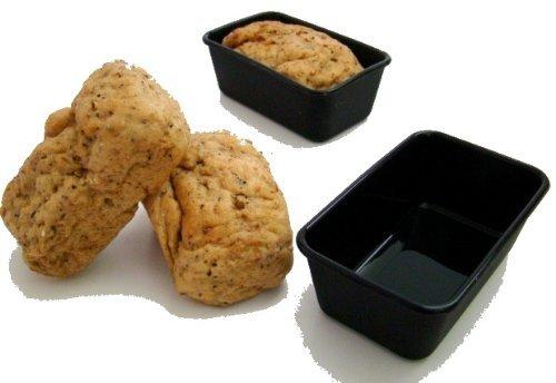 SilikonKüche Brotform/ Kuchenform, KASTEN Formen 12 Stück strapazierfähiges Silikon mit Antihaftwirkung, 10 Jahre Garantie -