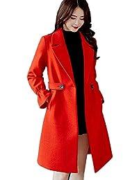 buy online b5a51 19e1c Amazon.it: cappotto rosso donna: Abbigliamento