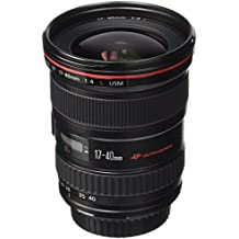 Canon EF 17-40mm f/4.0L USM Negro - Objetivo (12/9, 0,28 m, 17 - 40 mm, USM, Negro, 8,35 cm)