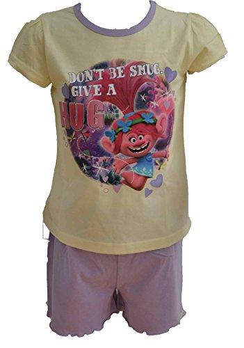 dreamworks-pijamas-enteros-manga-corta-para-bebe-nina-rosa-rosa-4-5-anos
