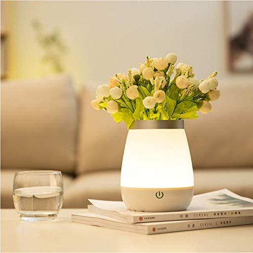 Touch Vase dimmbar leuchtende Rose Topfblume Flare und Touch Sensor Kinderzimmer Dekoration Lampe - Flare Kronleuchter