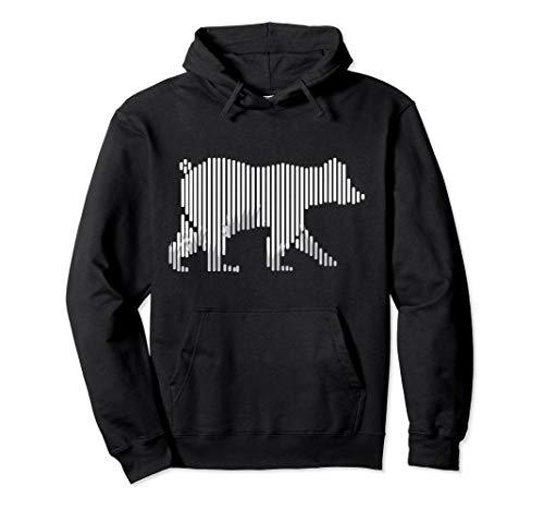 Barcode Bär Naturliebhaber Shirt Wald Code Umweltschutz Pullover - Bruder Und Schwester Bär Kostüm