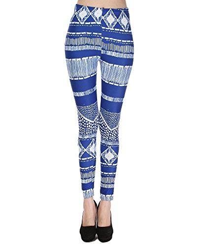 Pantalon Femme Slim Skinny Séchage Rapide Leggings Yoga Activités Extérieures JH Bleu