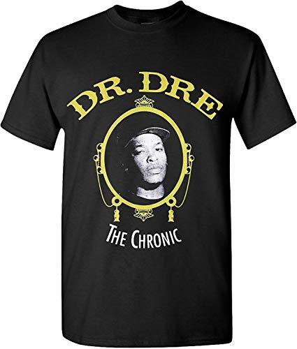 Pre-short Sleeve Graphic T-shirt (Fashion Mens T Shirt Dr DRE T Shirts Hip Hop Legend Rappers Graphic Chronic Men Printed T Shirt)