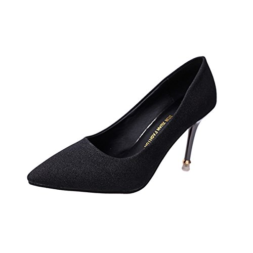 XTIAN - Scarpe con Tacco Donna Nero