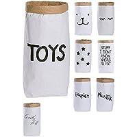 Saco de papel, bolsa de papel, manualidades, Marrón y Blanco