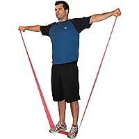 Bandas de resistencia - El pack de cuatro piezas incluye tres bandas extra largas y un anclaje para puerta. Haz ejercicio en cualquier parte - En casa y de viaje - Tonificar los músculos - Perder peso - Pilates - Yoga - Entrenamiento de la zona central del cuerpo - P90X - Insanity (Bandas 2meter)