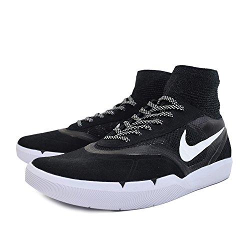 Nike Sb Hyperfeel Koston 3, Scarpe da Skateboard Uomo Bianco (Black / White) (nero)