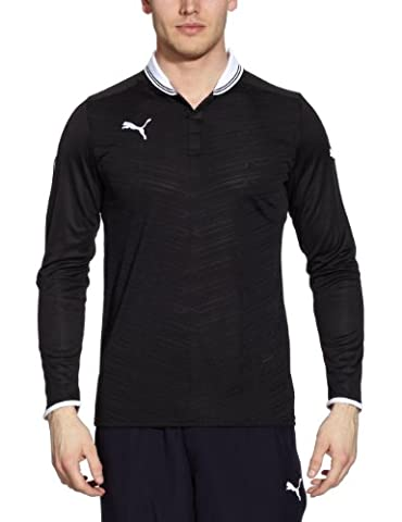 Puma Shirt PowerCat 1.12 Haut manches longues pour homme Noir Noir/Blanc m