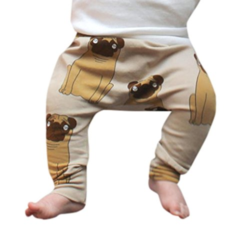 SHOBDW Boys Trousers, Toddler Baby Boys Girls Kids Cute Cartoon Animal Pants Leggings Clothes