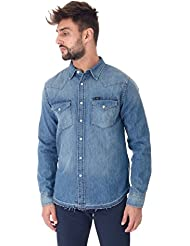 Camicia manica lunga uomo Lee denim