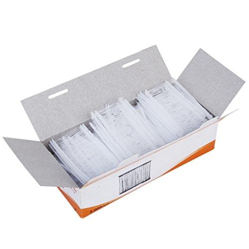 Homyl 5000 Heftfäden Standard 50mm für Heftpistole Etikettierpistole Etikettiermaschine Etiketten Preis Marke Tags Kleidung Socken Hüte