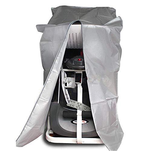 Industrie -, Polster-maschine (QIANCHENG-tarpaulins Wasserdicht Plane Laufband Staubschutz Mit Reißverschluss Passen Falten Stil Laufende Maschine,Silber,2 Größen,70x90x160cm)