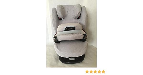 Sommerbezug Schonbezug Für Cybex Pallas M Und S M Und S Fix Frottee 100 Baumwolle Hellgrau Wechselbezug Für Den Fangkörper Baby