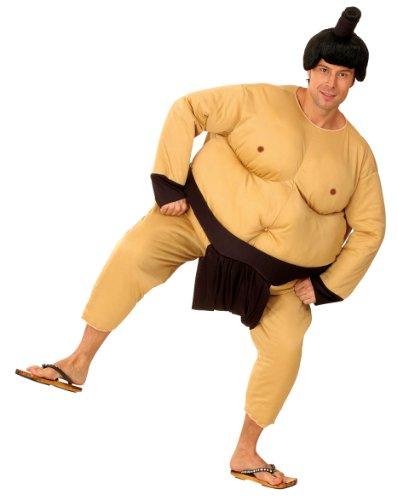 Für Erwachsene Herren Sumo Ringer Kostüm - Sumoringer-Kostüm für Herren - Einheitsgröße