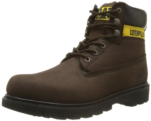 Caterpillar COLORADO, Herren Kurzschaft Stiefel, Braun (Chocolate), 45 EU (Cat Schuhe Wildleder)