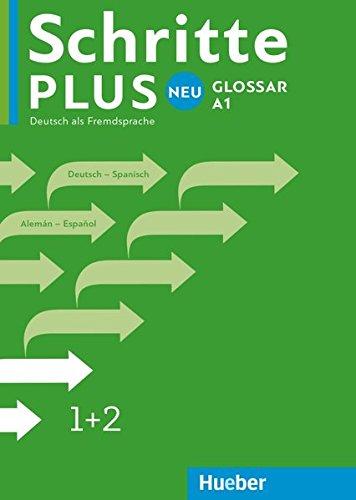 Schritte plus Neu 1+2. Glossar Deutsch-Spanisch - Glosario...