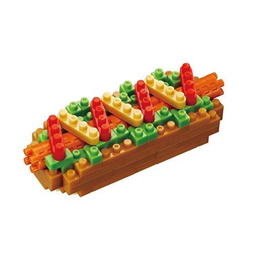 Unbekannt Nanoblock NBC-218 Hot Dog Essen Spielzeug, Multi Preisvergleich