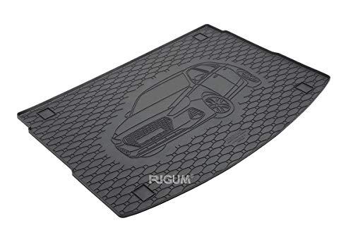 RIGUM Passgenaue Kofferraumwanne geeignet für Hyundai i30 Hatchback ab 2017 passen ideal