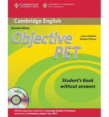 Objective PET Student's Book without Answers with CD-ROM (Objective) (Mixed media product) - Common