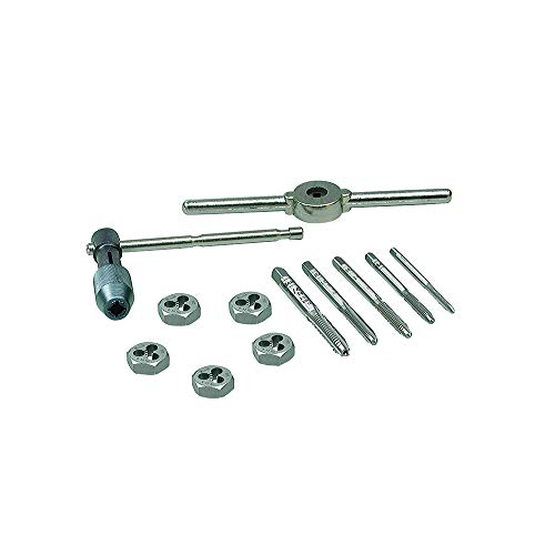 IRWIN Tools Machine Screw with Fractional Tap and Die Set, 12-Piece (24605) by Irwin Tools -
