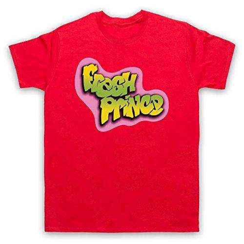 Fresh Prince Of Bel Air Logo Unofficial Mens T-Shirt