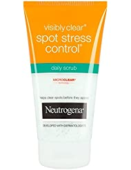 Neutrogena Visibly Clear Spot Stress Control Daily Scrub, 150 ml