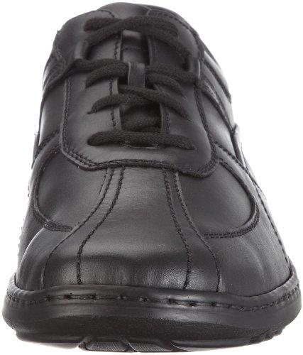 Waldläufer 478002 Ama174 001, Chaussures à lacets homme Noir (Palmer Schwarz 174 001)