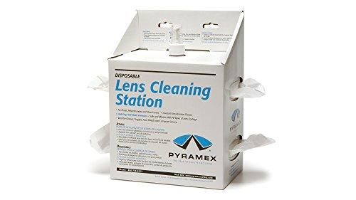 Pyramex Safety Produkte lcs20Objektiv Reinigungs Station, 1.588kg Gewicht: -