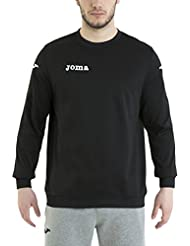 Joma Victory - Sudadera para hombre, color negro, talla M