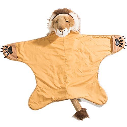 Wild & Soft Löwe Umhang Löwen Kostüm Verkleidung Kinder-Kostüm, Fasching Halloween, 90 x 115 - Wilden Löwen Kostüm