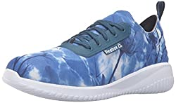 Reebok Womens Skyscape Revolution Walking Shoe, Graphic Noble Blue/Collegiate, 9.5 M US
