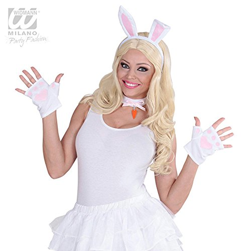 Bunny Set Dress Up Kit for Animals And Creatures Fancy Dress Up Costumes And (Kostüme Bunny Kit Pink)